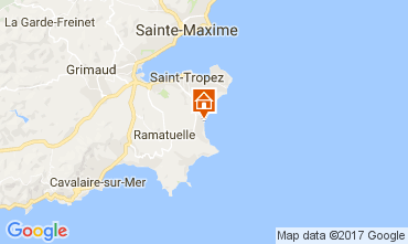 Map Ramatuelle Mobile home 107754