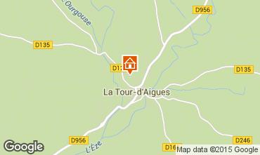 Map La Tour d'Aigues Apartment 71869