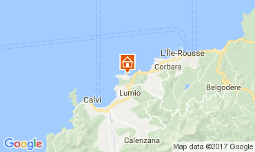 Map Lumio Apartment 107706
