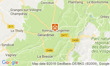 Map Gérardmer Chalet 114932