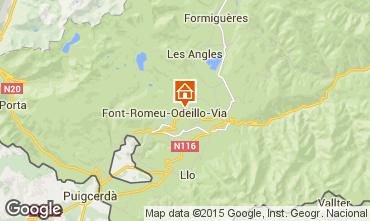 Map Bolquère Pyrenées 2000 Apartment 3984