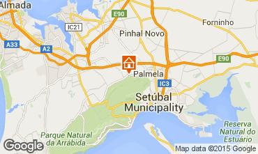 Map Palmela Self-catering property 61769