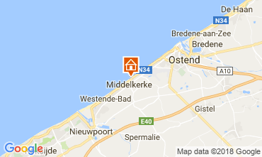 Map Middelkerke Apartment 115900