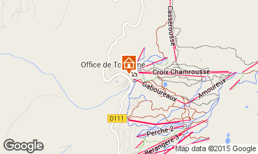 Map Chamrousse Apartment 66338