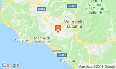 Map Ascea Villa 20490