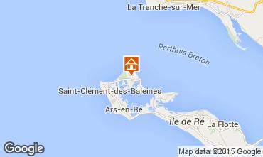Map Les Portes-en-Ré House 6994