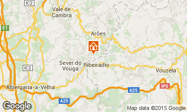 Map Sever do Vouga Self-catering property 59825