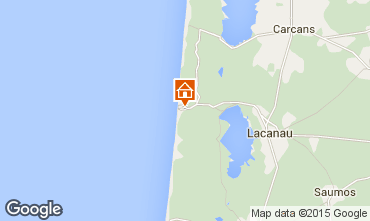 Map Lacanau House 76733