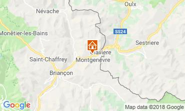 Map Briançon Apartment 100869