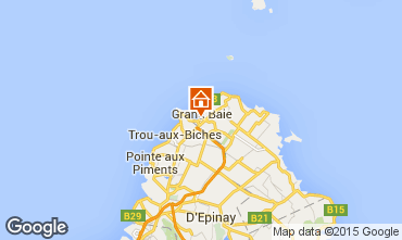 Map Grand Baie Villa 93578