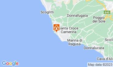 Map Santa Croce Camerina Apartment 78652
