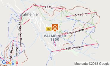 Map Valmeinier Apartment 117420