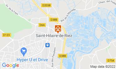 Map Saint Hilaire de Riez House 18955