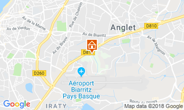 Map Anglet House 116210