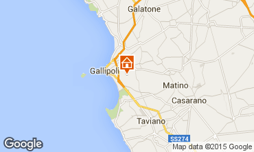Map Gallipoli Villa 92673