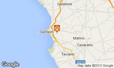 Map Gallipoli Villa 92673