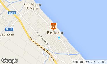 Map Bellaria Igea Marina Apartment 69763