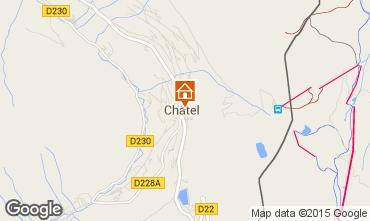 Map Châtel Apartment 80929