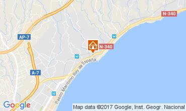 Map Fuenguirola Apartment 111259