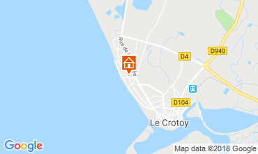 Map Le Crotoy Apartment 117275