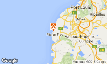 Map Flic-en-Flac Bungalow 50771