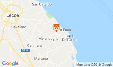 Map Torre dell'Orso Villa 117634