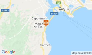 Map Capoterra Apartment 119151
