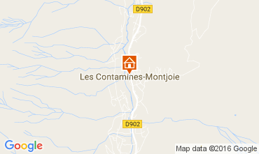 Map Les Contamines Montjoie Flat 101958