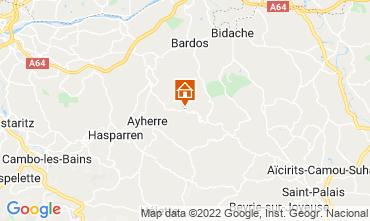 Map Biarritz House 69281