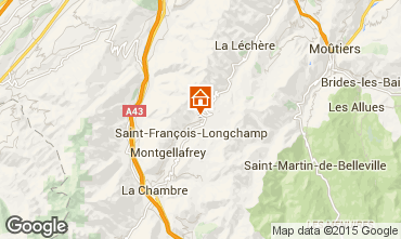 Map Saint François Longchamp Chalet 77938