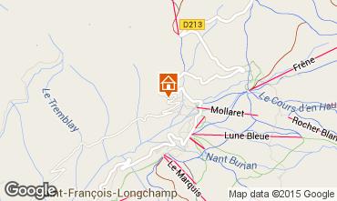 Map Saint François Longchamp Chalet 77938