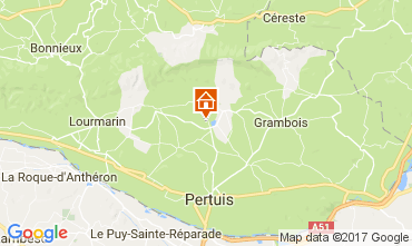 Map Lourmarin Villa 108812