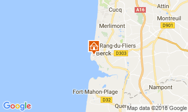Map Berck-Plage House 113573
