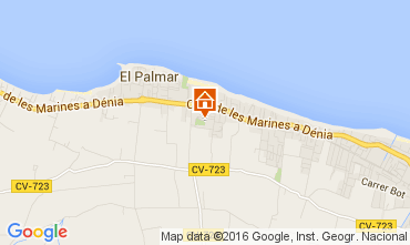 Map Denia Villa 103619