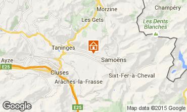 Map Morillon Grand Massif Chalet 1905