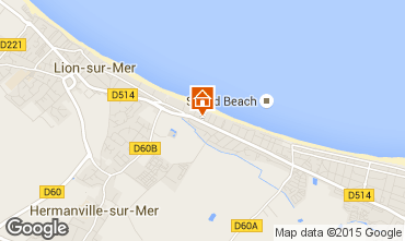 Map Ouistreham House 70424