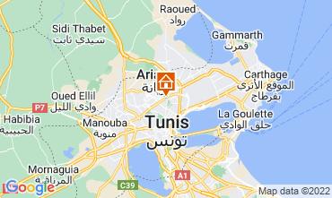 Map Tunis Apartment 80246