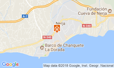 Map Nerja Apartment 115892