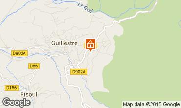 Map Guillestre Apartment 75933