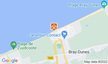 Map Bray-Dunes Villa 117818