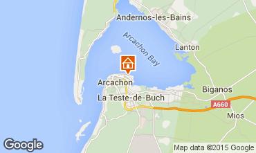 Map Arcachon Apartment 21709