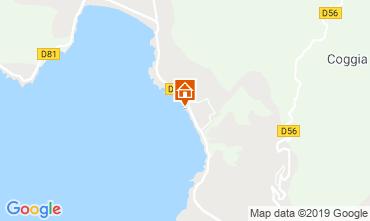 Map Sagone Apartment 118488