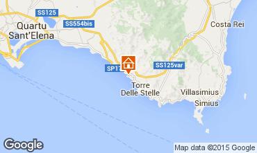 Map Villasimius Villa 86855