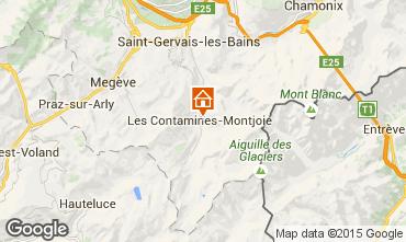 Map Les Contamines Montjoie Chalet 27332