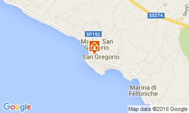 Map Santa Maria di Leuca House 104045