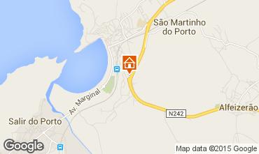 Map São Martinho do Porto Apartment 70499