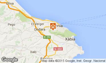 Map Denia Chalet 45596