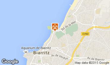 Map Biarritz Apartment 69870