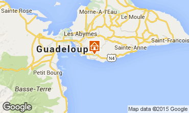 Map Gosier (Guadeloupe) Bungalow 8003