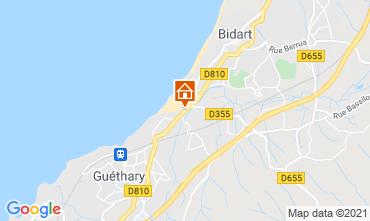 Map Bidart Apartment 101051